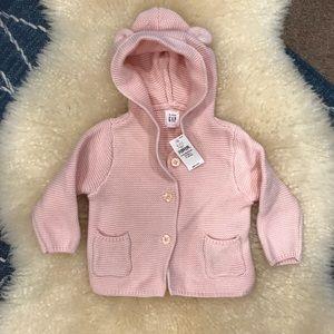Baby Gap Knitted Bear Hoodie 🐻